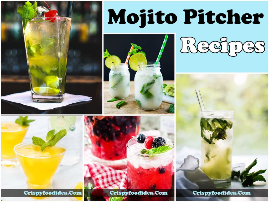 Mojito Pitcher Recipes