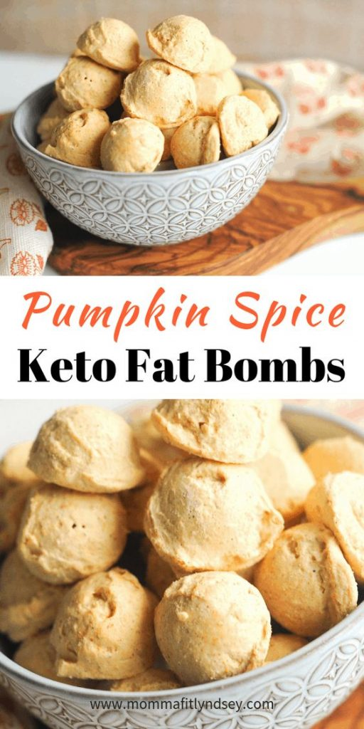 Pumpkin Spice Keto Fat Bombs