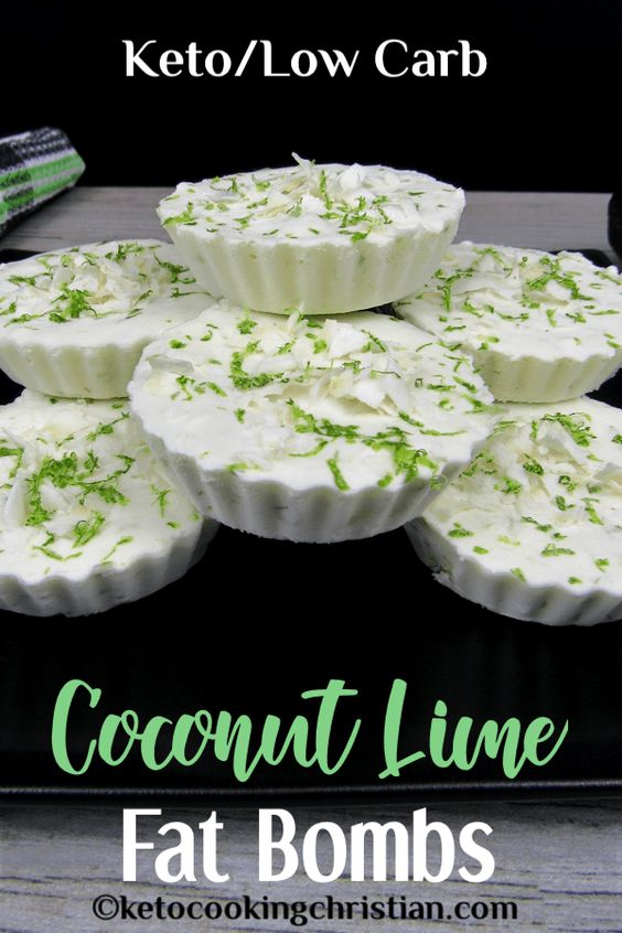 Keto Coconut Lime Fat Bombs