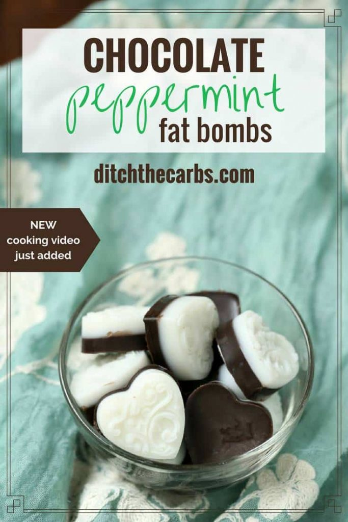Keto Peppermint Fat Bombs
