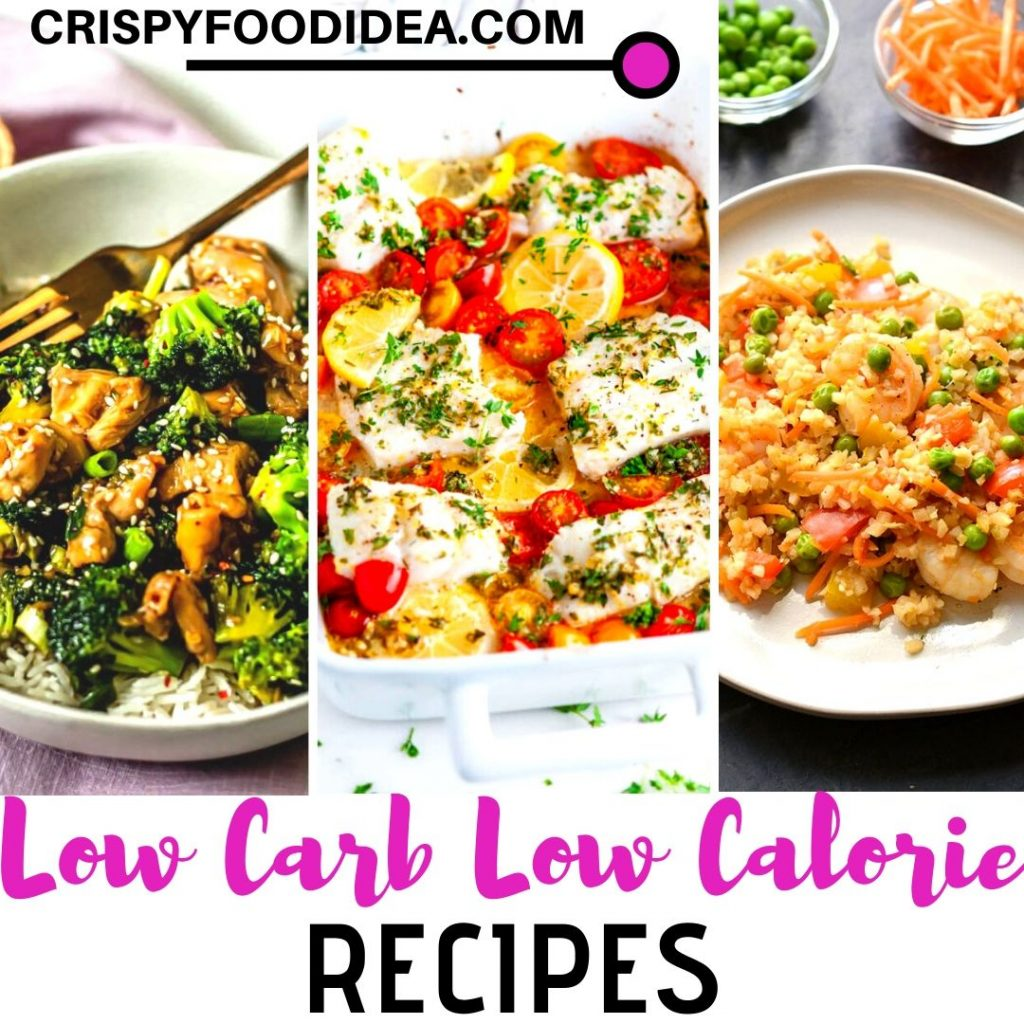 Healthy Low Carb Low Calorie Recipes